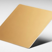 STAINLESS GOLD MIRROR SHEET