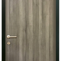 MELAMINE DOOR MEP-001 MEDIUM OAK