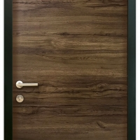 MELAMINE DOOR MEP-005 BROWN WALNUT